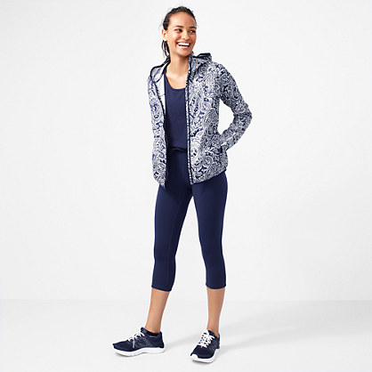 New Balance® for J.Crew paisley windbreaker