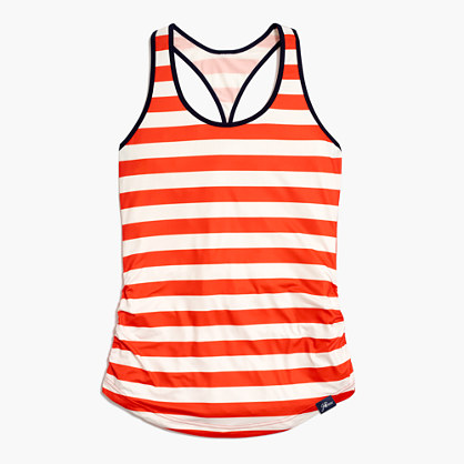 New Balance® for J.Crew perfect tank top in stripe