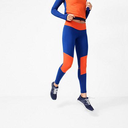 New Balance® for J.Crew performance leggings in colorblock