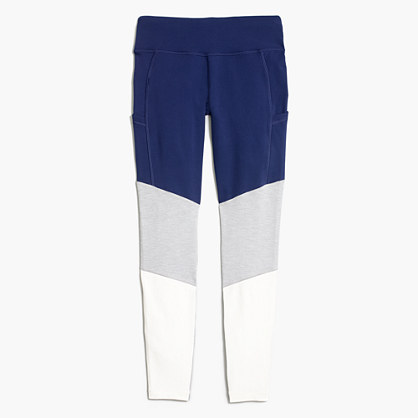 New Balance® for J.Crew performance leggings in colorblock