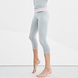 New Balance® for J.Crew seamless capri leggings