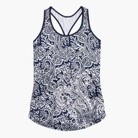 New Balance® for J.Crew perfect tank top in paisley
