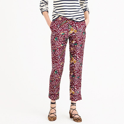 Collection Drake's® for J.Crew pant in Bird of Paradise