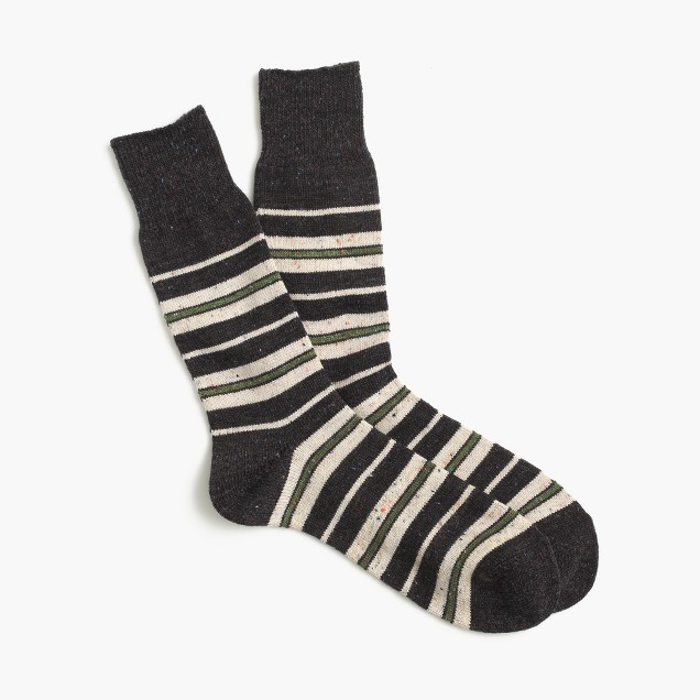 Anonymous Ism™ blanket stripe socks