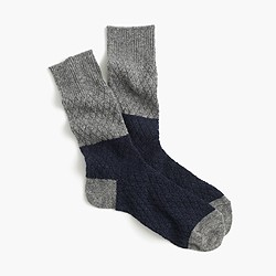 Anonymous Ism™ diamond-quilted socks