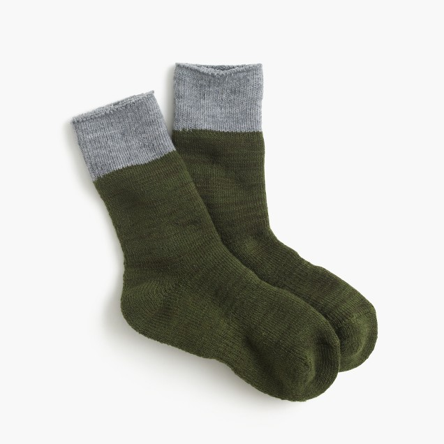 Anonymous Ism™ two-color socks