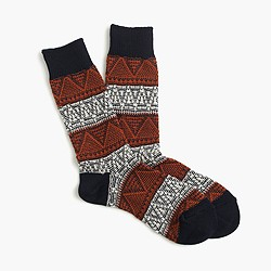 J. Crew Anonymous Ism™ mountain range socks