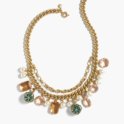 J.Crew Womens Charm Necklace