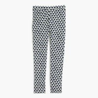 Girls' everyday leggings in allover hearts