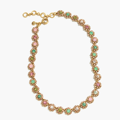 Mini rosette necklace