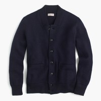 Wallace & Barnes boiled wool bomber jacket