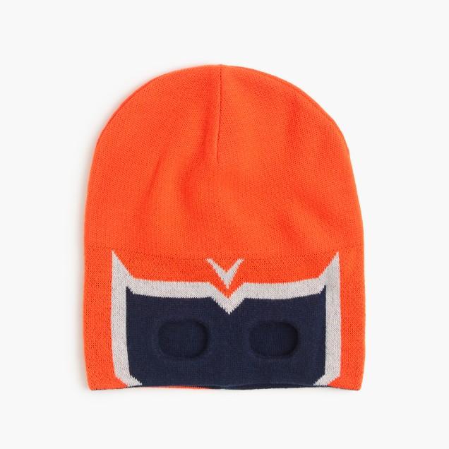 Boys' superhero mask beanie hat
