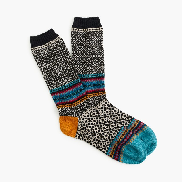 Chup™ geometric socks