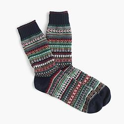 Chup™ Fair Isle socks
