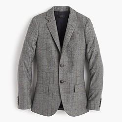 Collection Ludlow blazer in glen plaid wool