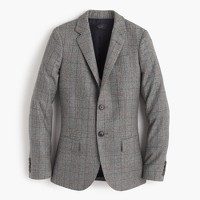 Collection Ludlow blazer in glen plaid wool