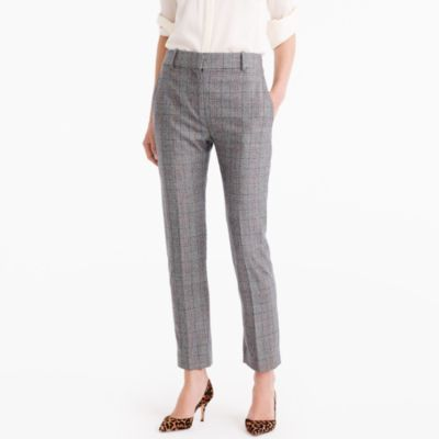 Collection Ludlow Pant In Wool Glen Plaid : Women's Pants | J.Crew