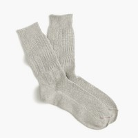 Mr. Gray™ Aran knit socks