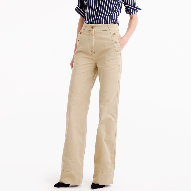 J.Crew for NET-A-PORTER® sailor chino