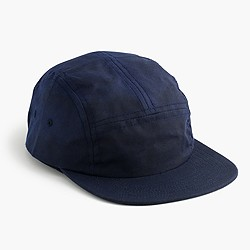 FairEnds™ waxed cotton camp cap