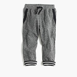 Boys' jersey-lined cozy sweatpant