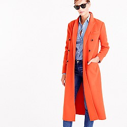 Collection wool-cashmere duster coat