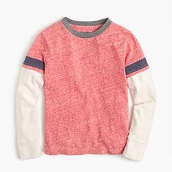 Boys' layered stripe T-shirt
