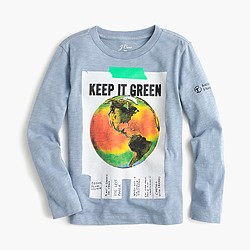 J.Crew for the American Museum of Natural History Earth T-shirt