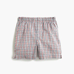 Boys' multi-plaid boxers