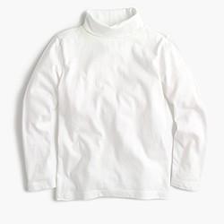 Boys' cotton jersey turtleneck