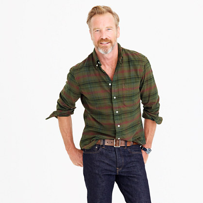 Gitman Vintage™ for J.Crew brushed flannel shirt