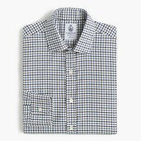 Cordings™ for J.Crew shirt in chambray blue check