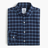 Cordings™ for J.Crew shirt in naval blue check
