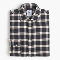 Cordings™ for J.Crew shirt in graphite plaid