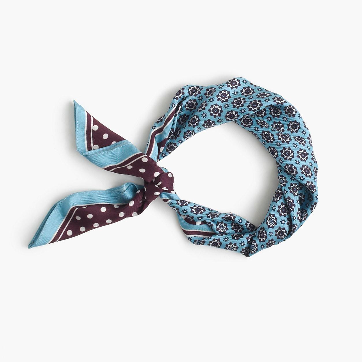 J Crew square scarf