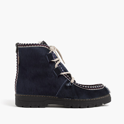 Penelope Chilvers™ Incredible boots with sapphire folk trim