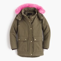 Collection down parka