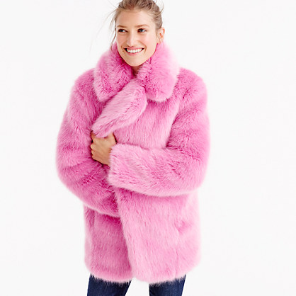 Collection Faux-Fur Jacket : Women&39s Coats &amp Jackets | J.Crew