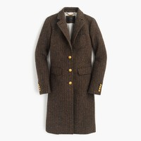 Collection Rhodes topcoat in Scottish tweed