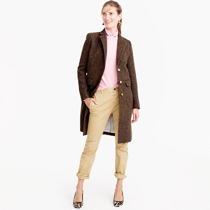 Pre-order Collection Rhodes topcoat in Scottish tweed