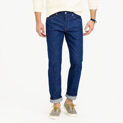 Wallace & Barnes straight-leg jean in American indigo denim