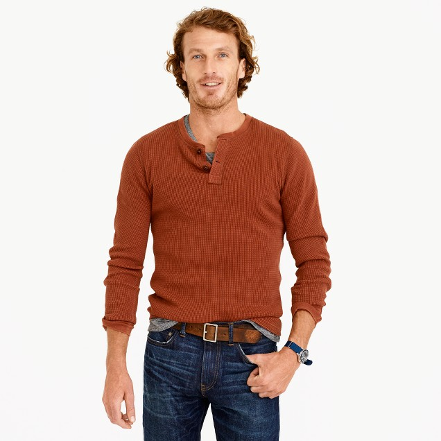 Wallace & Barnes thermal henley