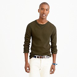 Tall Wallace & Barnes thermal crewneck