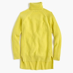 Collection Italian cashmere-mohair turtleneck sweater