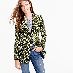 Collection blazer in Ratti® geometric tile print