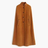 Collection wool-cashmere cape