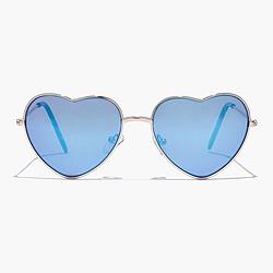 Girls' heart-shaped sunnies