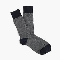 J. Crew Microdot socks