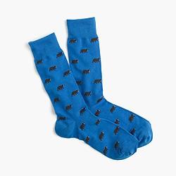 J. Crew Bear socks