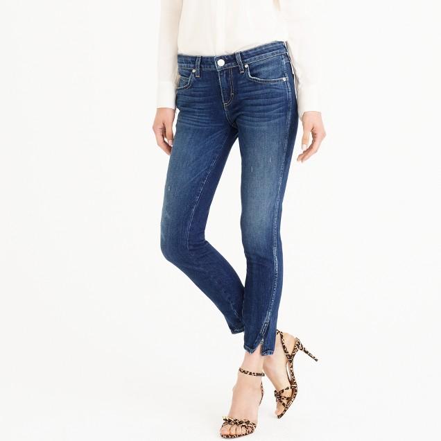 AMO® twist zip jean in sapphire wash